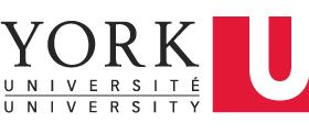 Logo for York University